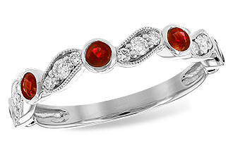 D188-06766: LDS WED RG .40 RUBY .59 TGW