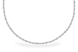 E273-52193: 1.5MM 14KT 20IN GOLD ROPE CHAIN WITH LOBSTER CLASP