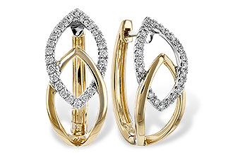 G189-89529: EARRINGS .25 TW