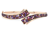L188-97683: BANGLE 3.12 MULTI-COLOR 3.30 TGW (AMY,GT,PT)