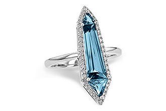 M190-74038: LDS RG 2.20 LONDON BLUE TOPAZ 2.41 TGW